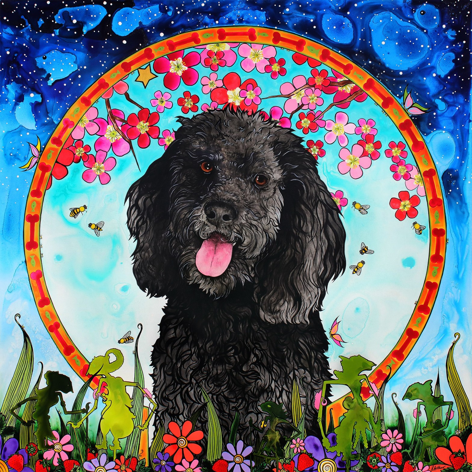 Goldendoodle Portrait