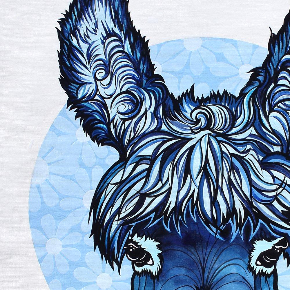 Blue Donkey I