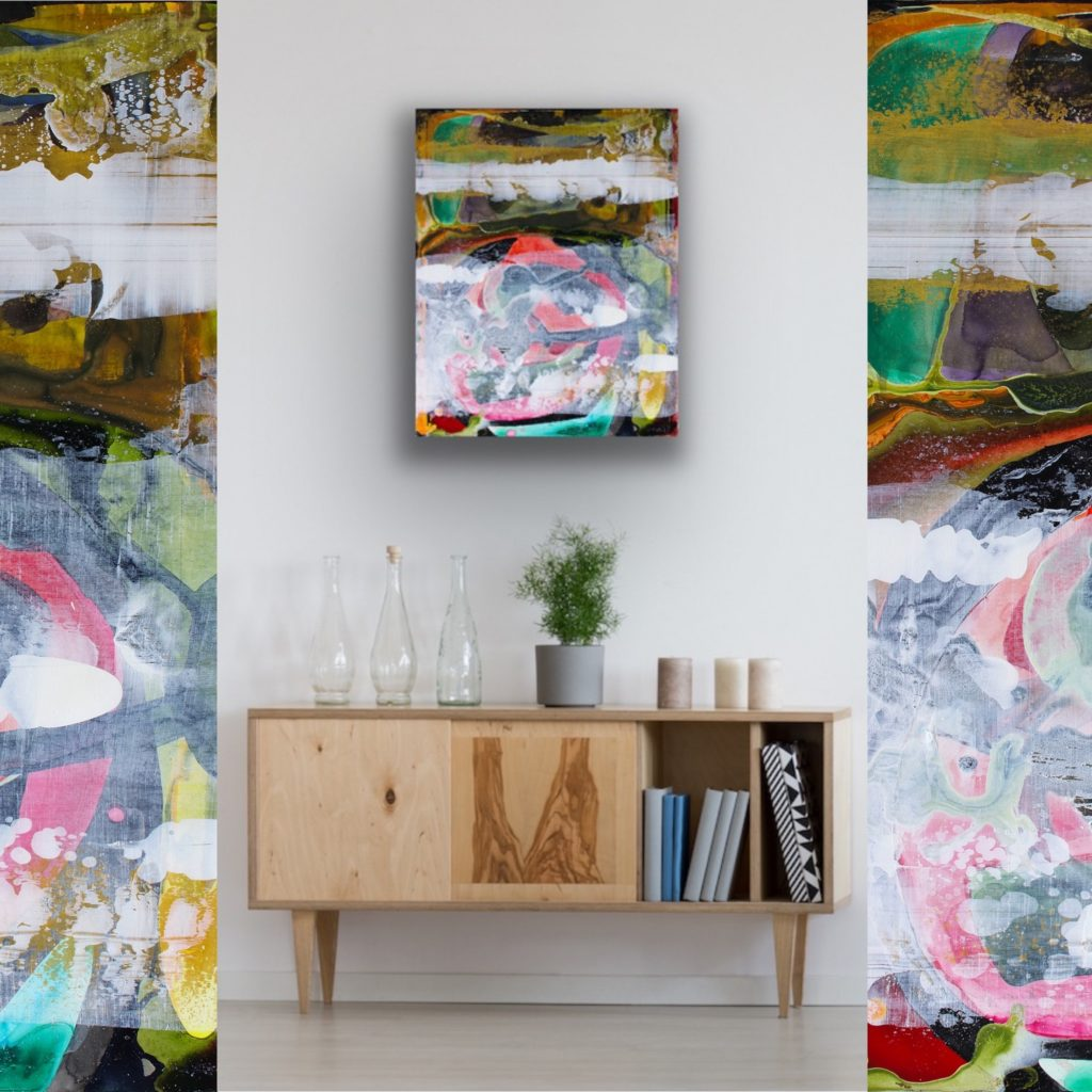 Robin-Arthur-Abstract-Art-The-Hike-Sample-Room-Collage