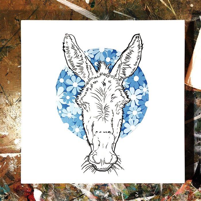 Blue Donkey II